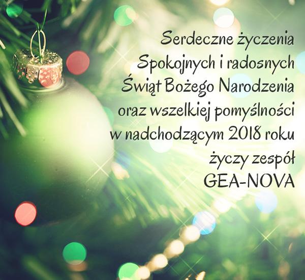 Geanova życzenia świąteczne